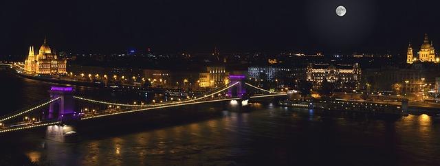 v noci budapešť