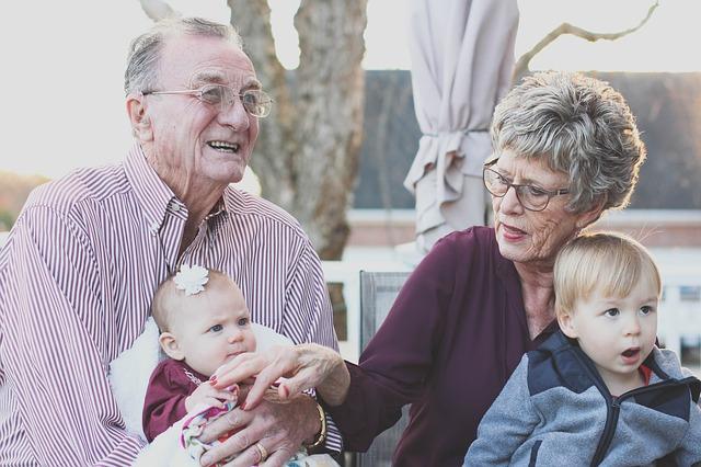 radost s vnoučaty