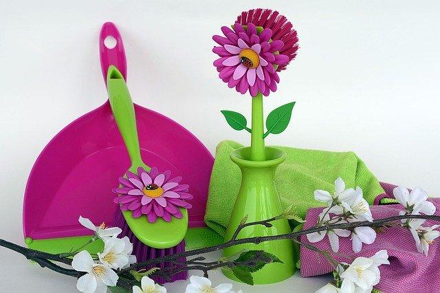 Jarní úklid Vašeho domova